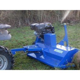 4ft ATV Flail Mower - 15hp Pull Start Tow Behind