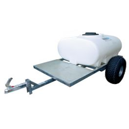 500L Site Tow Trailer Mounted Water Bowser - Single Axle