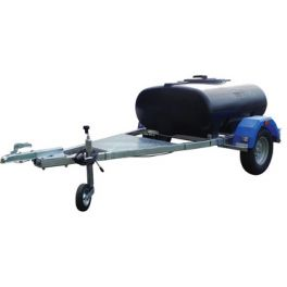 500L Highway Tow Trailer Mounted Water Bowser - Single Axle