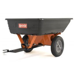 10ft³ Towed Poly Body Cart Trailer