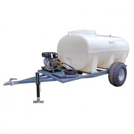 3000L Site Tow Interpump Pressure Washer Bowser - 13LPM - 2900PSI - Petrol - Recoil Start
