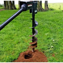 """6"""" Auger for PTO Hole Borer"""