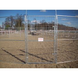 Mesh Lunge pen with Gate
