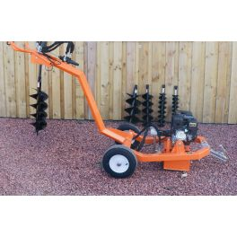 Towable Hole Borer With 5 Earth Augers