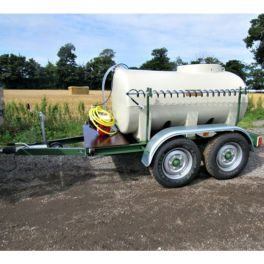 1200L Water Bowser - Fast Tow Unit - Electric