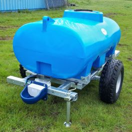 1200L Animal Drinking Bowser Trailer with 4L trough - Site tow
