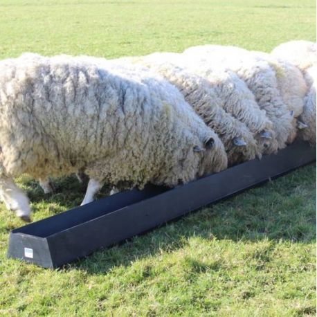 2.8m Floor Standing Feed Trough - 54L
