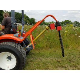"""9"""" Tractor Mounted Post Hole Borer"""