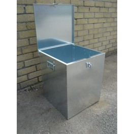 Assembled Galvanised Feed Bins - Small Holder Equipment