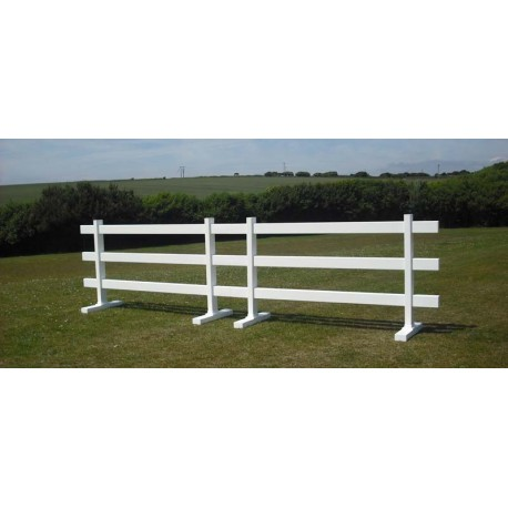 Temporary Fence- 3 rails, 6ft wide x 3ft high