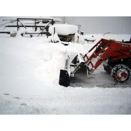 Snow Blade for Loading Bucket 7ft Wide