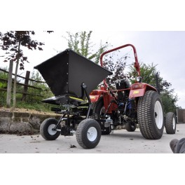 Heavy Duty Towed Salt/Seed Broadcaster Spreader