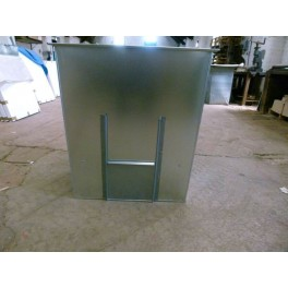 Coal Bunker 250kg Capacity Flat Pack