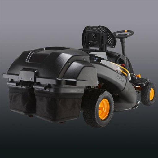 30 5 ride on cross mower c w collector mcculloh m105 77xc small holder equipment. Black Bedroom Furniture Sets. Home Design Ideas